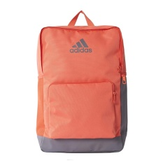 Adidas 3-Stripes Backpack - Easy Coral /Easy Coral /Trace Grey