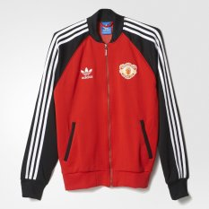 Adidas Manchester United Superstar Track Jacket - Merah