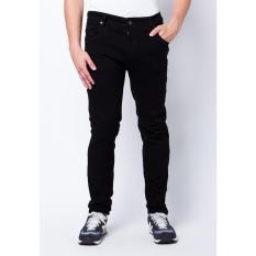 AHF Celana Panjang Jeans Regular Fit Standard Pria - Hitam (Black)
