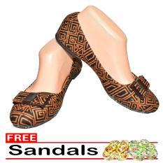 Aintan Flat Shoes Develop 28- Sepatu Balet - multicolor Free Sandals