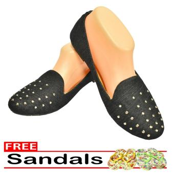Woman Choice Flat Shoes Develop 31 - Sepatu Balet - Hitam