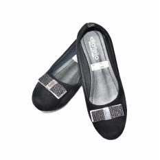 Aintan Flat Shoes Diatello 08- Sepatu Balet - hitam