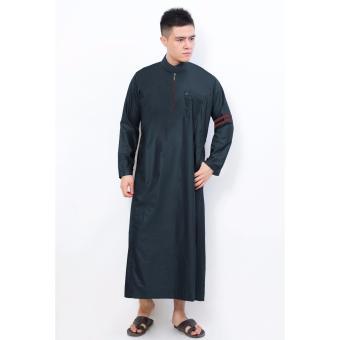 Harga Al Isra Jubah Nabawi Warna Pakaian Gamis Muslim Pria Dark Grey Pricenia Com