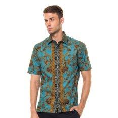 Alisan - Batik Pendek Slim Fit- Hijau
