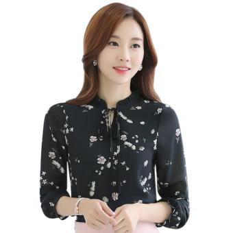 Menggantung Qiao Panas Gaya Korea Jual Baju Wanita Atasan Bergaris Source · Amart atasan wanita Chiffon