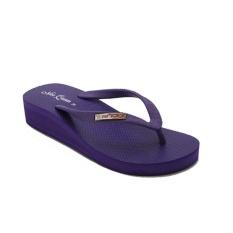 Ando Sandal Jepit Nice Queen Ladies - Ungu