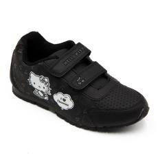 Ando Sepatu Sekolah Anak Perempuan HK Cherry - Black