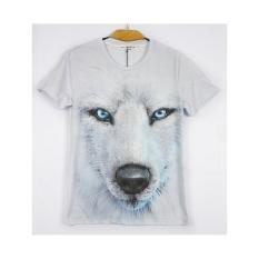 Animal Prints 3D Lifelike Men Clothes Tshirt Casual Short Sleeve O-Neck Fashion Tops Men's T-Shirt