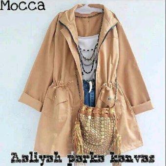 Aquinn Labelle - Long Sleeve Jaket Parka (Mocca)