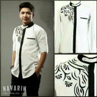 Aquinn Labelle Long Sleeve Shirt Koko Pasha (White)