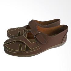 arsy collections sepatu wanita flat shoes - coklat