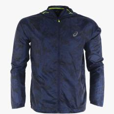 Asics Fuzex Men's Packable Jacket - Navy
