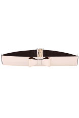 ASTAR New Fashion Women's Sequined Elastic Belts Metal Belt (Coffee) ϼ
