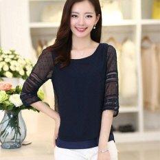 Menggantung Qiao Panas Gaya Korea Jual Baju Wanita Atasan Bergaris Source · Atasan Fashion Wanita Gaya