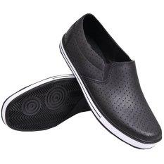 ATT Sepatu Pria Kerja Pantofel Karet S1115 Anti Air K012 - Hitam