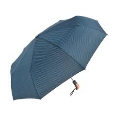 Automatic Folding 9k Umbrella Men Rain Quality Windproof UV Male Stripe Parapluie Blue Colors Recommend -