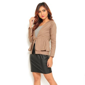 Ayako Fashion Blazer Venus - (Brown)