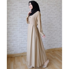 Ayako Fashion Long Sleeve Maxi Hilda (Brown)