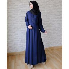 Ayako Fashion Long Sleeve Maxi Hilda - (Navy)