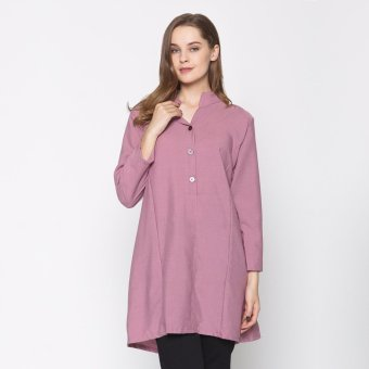Ayako Fashion Tunik Zuri - AY (Dusty Pink)