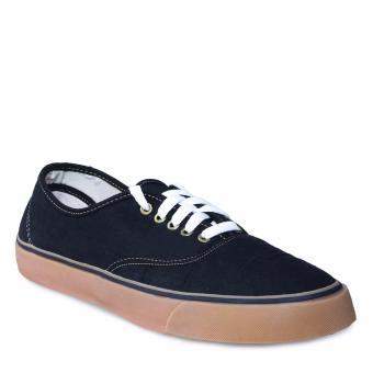 Ayako Fashion VS - 02 Score Men Gum Sole Authentic Shoes - (Black)