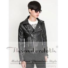 Azena - Leather Jacket Korean Style Rock N Roll AZJ-01