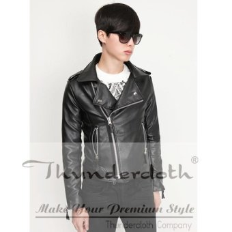 Azena - Leather Jacket Korean Style Rock N Roll AZJ-01