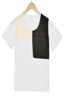 Azone Retro Short Sleeve T-Shirt (White)