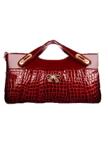 Azone Women's Purse Clutch Evening Bag Handbag (Red)