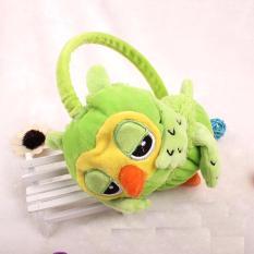 Baby Talk Owl Cute Earmuff - Penutup Telinga untuk Bayi sampai Dewasa - Green