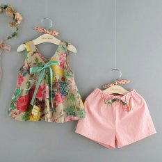 Baju Anak Perempuan - Fashionable - ST Blossom Girl Flower
