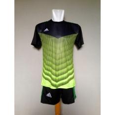 Baju Celana Setelan Kaos Jersey Futsal Green