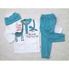 Baju Koko Anak / Baju Koko Bayi / Setelan Muslim Anak Bayi (1-3 tahun)