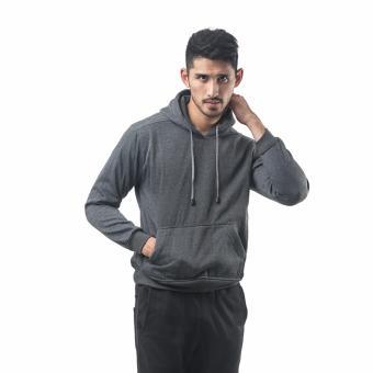 Bajukitaindonesia Jaket Hoodie Jumper Polos ABUTUA - M-XL