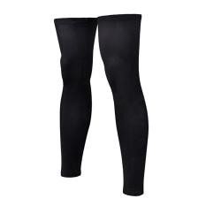 Bang 1 Pair Black Sport Football Basketball Cycling Strechleg Knee Long Sleeve Size Xxxl - intl