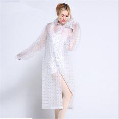 Bang Eva Resin Non-Toxic Lightweight Transparent Rain Jacket Ponchoraincoat Xl