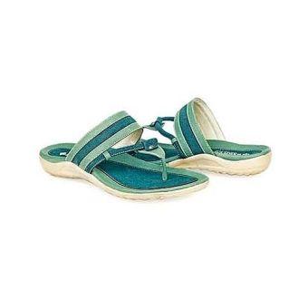 Baricco BRC 516 Sandal Teplek Casual Wanita Synthetic Unik ( Hijau Comb )