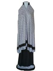 Batik Pitaloka Mukena Katun Jersey [Hitam]