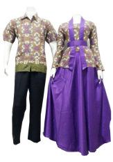 Batik Putri Ayu Batik Couple SRG 92 - Ungu
