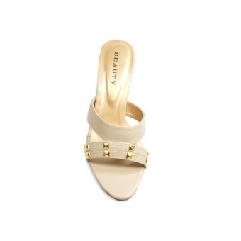 Beauty Shoes Lyra Heels Cream
