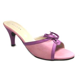Beauty Shoes Purple Sandal - Ungu