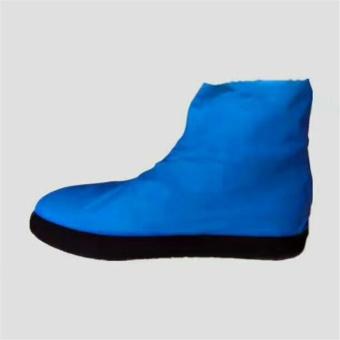 Beautymaker Rain Waterproof Shoe Cover Reusable Anti-slip Rain Boot Motorcycle Bike Overshoe M -