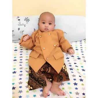 harga BAGUSBABYFASHION Beskap Bayi dan Anak Kostum Tedak Siten / Mudun Lemah Tradisional Jawa Lazada.co.id
