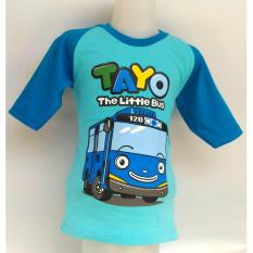 BEST SELLER BAJU KARAKTER ANAK TAYO THE LITTLE BUS ( BLUE )