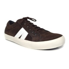 Black Master Low Sneakers Dark Brown Suede