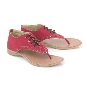 Blackkelly Sandal Flat Tali Kelsey LFS 178 - Pink