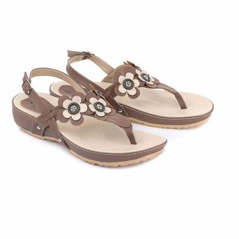 Blackkelly sandal wanita 70-cream