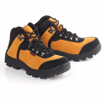 Blackkelly Sepatu Boots Adventure Safety - LLX 934