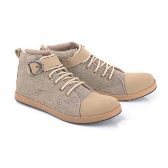 Blackkelly Sepatu Casual Boots Wanita LLE 317 - Brown