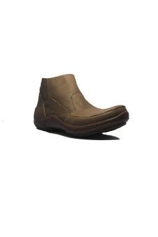 Bloons Footwear Boots Slip On Loafers Kulit Asli Cokelat